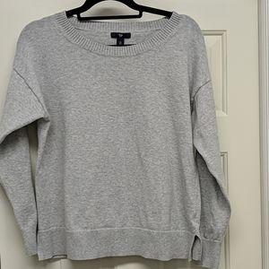Gray GAP Crew neck sweater size Large